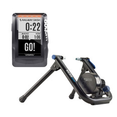 Wahoo KICKR SNAP + ELEMNT GPS Indoor Smart Training Bundle