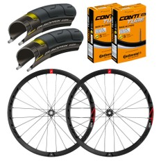 Fulcrum Racing 4 Disc Brake Wheelset with Tyre/Tube Bundle 2018