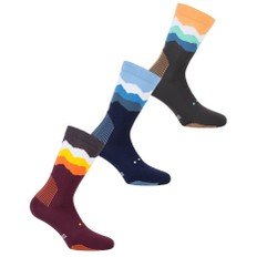 Pacific & Co. Les Alps Crew Socks