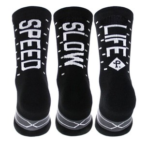 Pacific & Co. Speed/Slow Life Reflective Socks