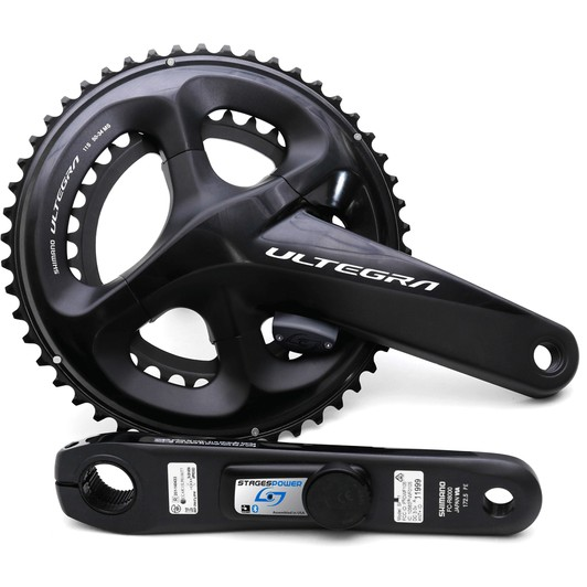 3d3b060269a Stages Cycling G3 Shimano Ultegra R8000 LR Dual Sided Power Meter 52 ...