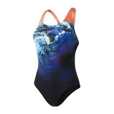 Speedo StormFlow Digital Powerback Womens Swimsuit