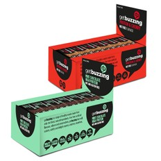 GetBuzzing Nut Free Protein Bar Box of 12 x 62g
