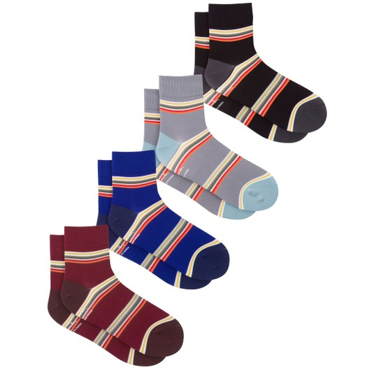 9f938a9dfa6202 Paul Smith Multi Block Stripe Cycling Socks | Sigma Sports