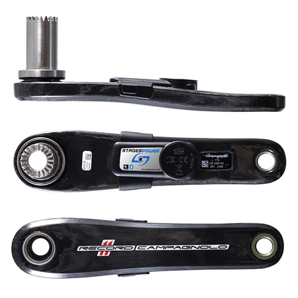 Stages Cycling G3 Power L Campagnolo Record Road Crank Arm