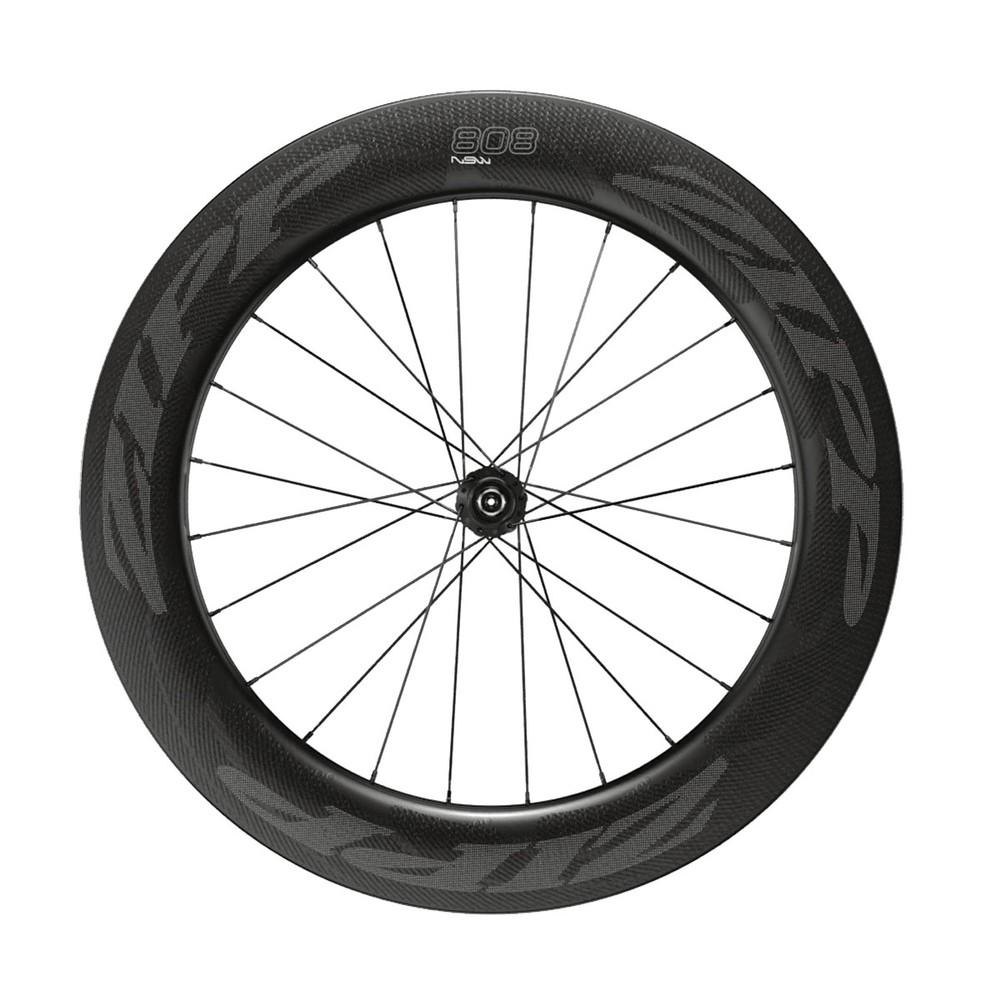 Zipp 808 NSW Carbon Clicnher Tubeless Centre Lock Disc Front Wheel 2019