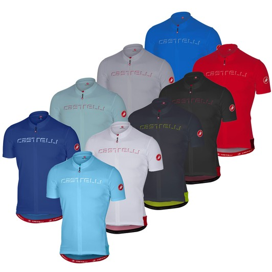 76df542e9 Castelli Prologo V Short Sleeve Jersey