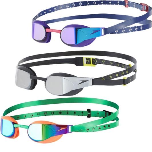 new design outstanding features low priced Speedo Fastskin Elite Mirror Goggle