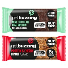 GetBuzzing Nut Free Protein Bar 62g