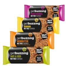 GetBuzzing Nut Free Energy Bar 62g