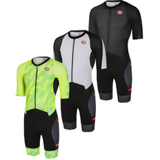 Castelli All Out Speed Short Sleeve Trisuit