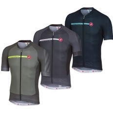 Castelli Aero Race 5.1 Full Zip Short Sleeve Jersey