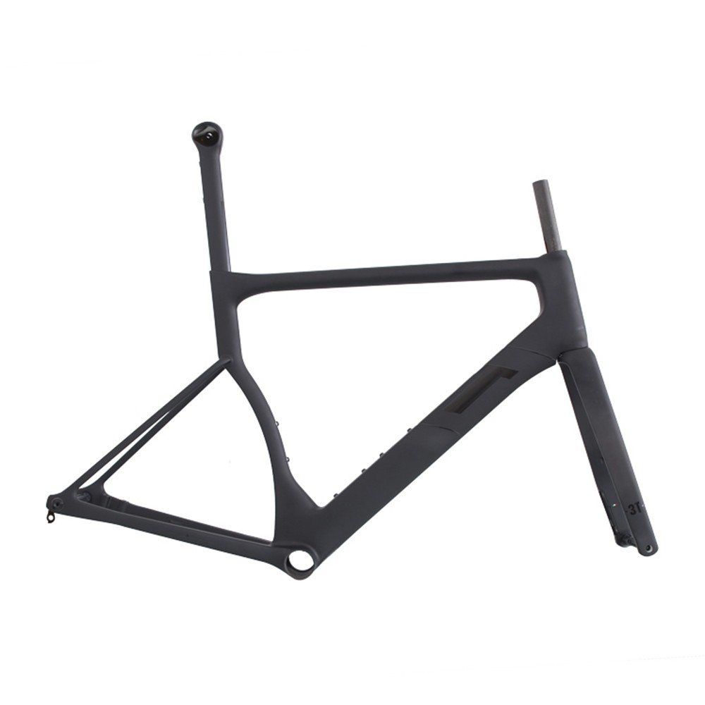 3T Cycling Strada Team Frameset (Black)