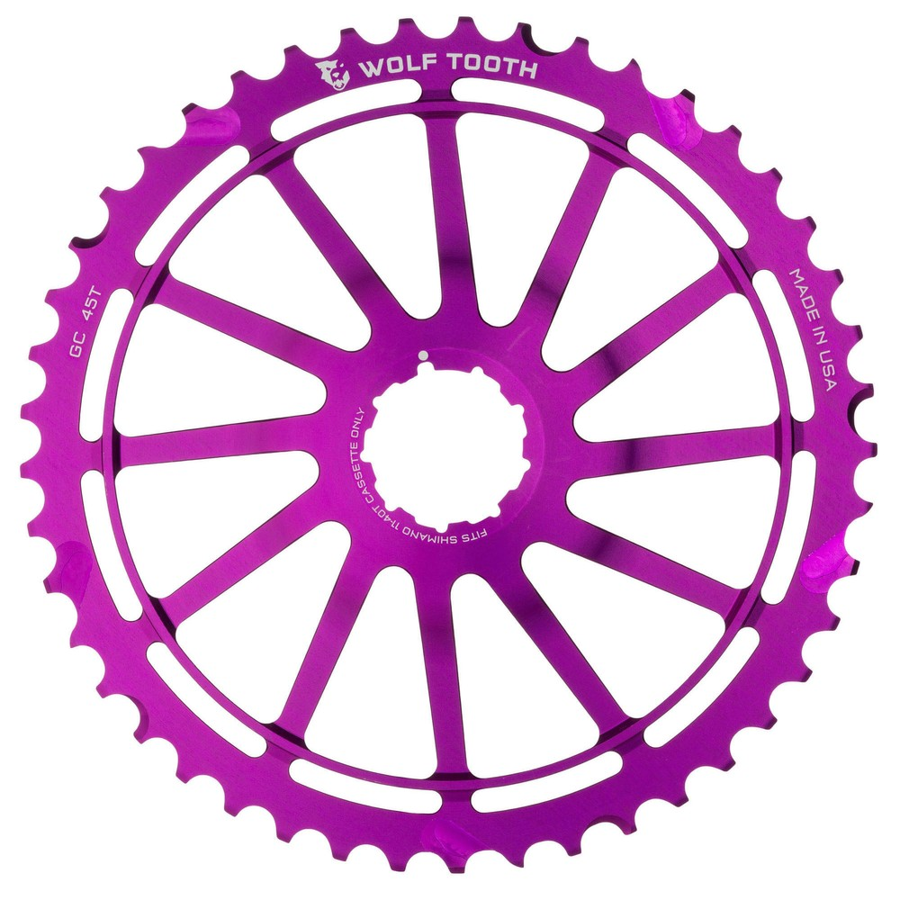 Wolf Tooth Components 49T GC Cog & WolfCage Kit - Shimano 11 Speed