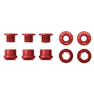 Wolf Tooth Components 1X Chainring Bolts And Nut Set X5