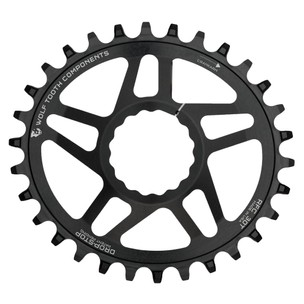 Wolf Tooth Components PowerTrac Elliptical Reverse Dish Chainring For Race Face Cinch