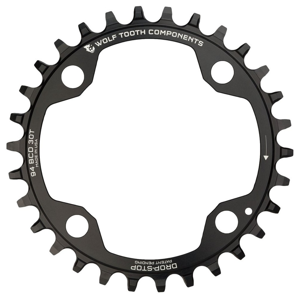 Wolf Tooth Components 94 BCD Chainring For 4 Bolt SRAM