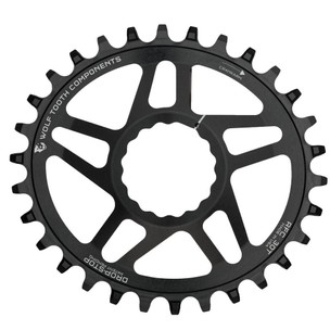 Wolf Tooth Components DM PowerTrac Elliptical Chainring For Race Face Cinch