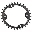 Wolf Tooth Components 96 BCD PowerTrac Elliptical Chainring For Shimano XTR M9000