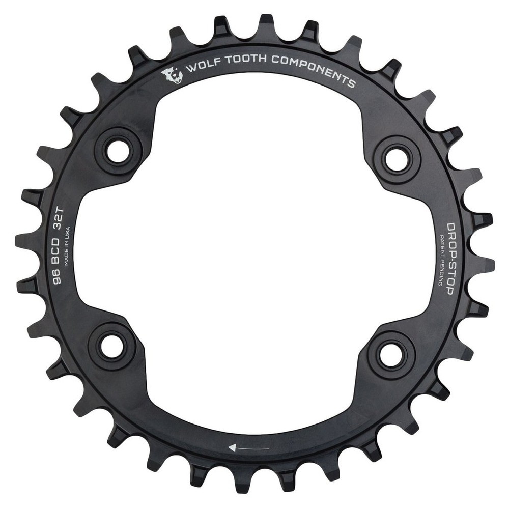 Wolf Tooth Components 96 BCD Chainring For Shimano XTR M9000 And M9020