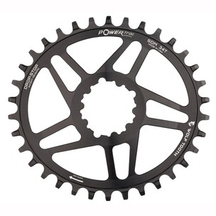 Wolf Tooth Components Direct Mount PowerTrac Elliptical Chainring For SRAM GXP