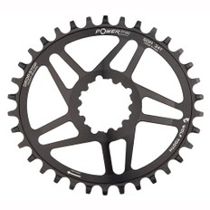 Wolf Tooth Components Direct Mount PowerTrac Elliptical Chainring for SRAM BB30
