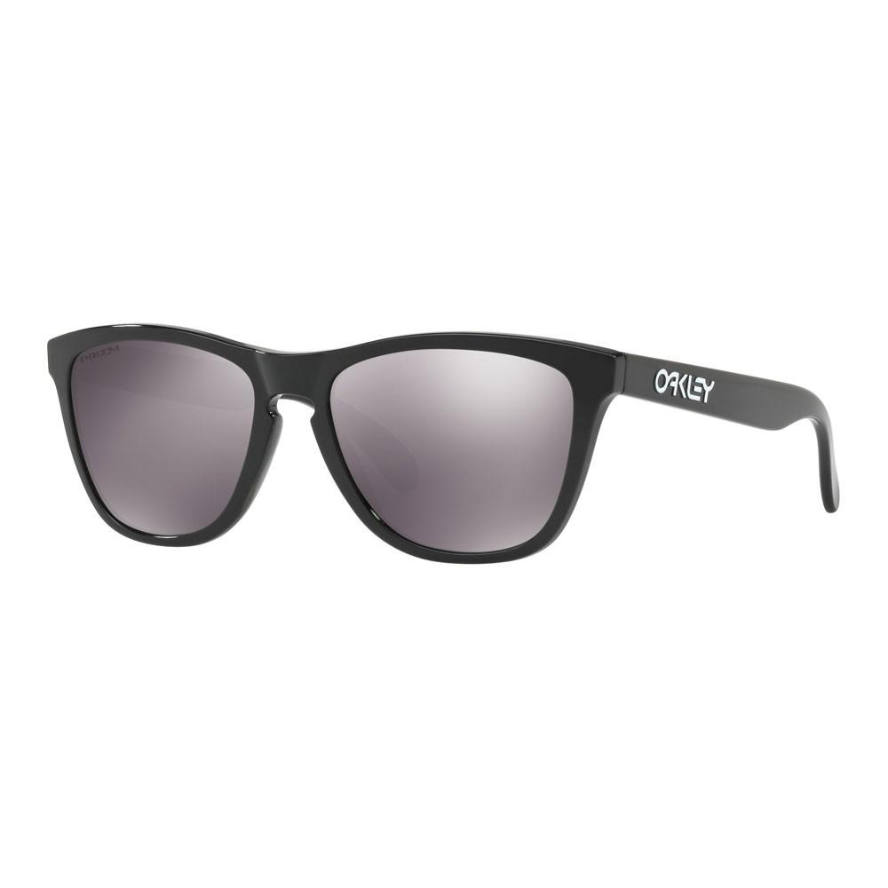 Oakley Frogskins Sunglasses With Prizm Black Lens