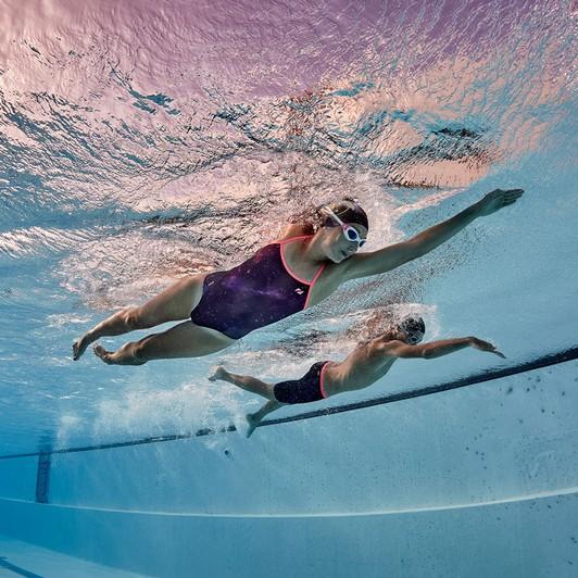 0aa96082d06 ... Zone3 Cosmic 2.0 Twin Strap Womens Swim Costume