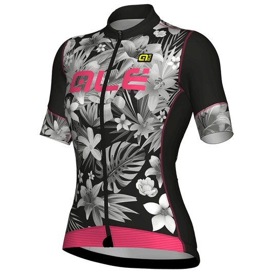 SPECIALIZED WOMEN/'S CYCLING JERSEY GREY PINK TRIM NWT SMALL
