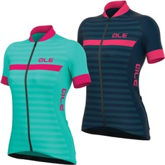 Ale Solid Riviera Womens Short Sleeve Jersey