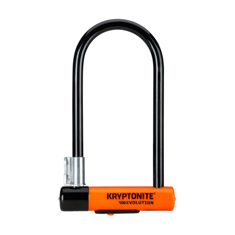 Kryptonite Evolution Standard Lock + FlexFrame-U Bracket Sold Secure Gold