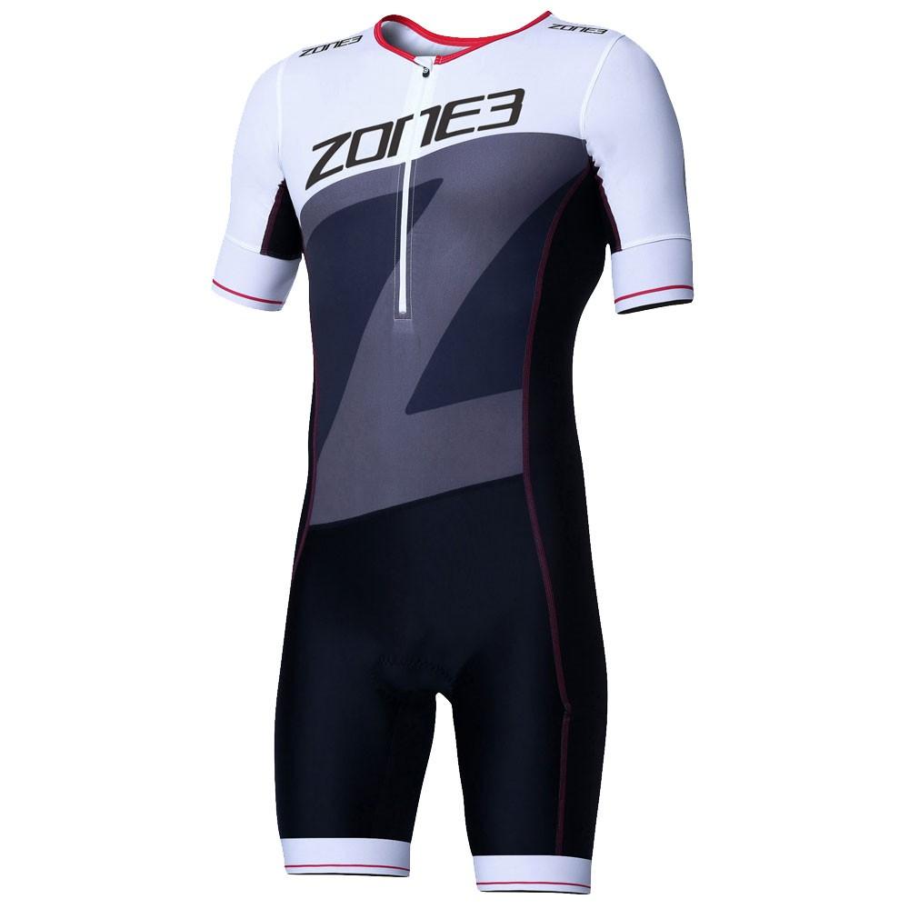 Zone3 Lava Short Sleeve Aero Trisuit 19