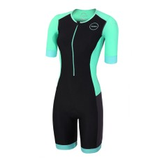 Zone3 Aquaflo Plus Short Sleeve Womens Trisuit