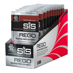 Science In Sport Rego Rapid Recovery Sachet Box Of 18 X 50g