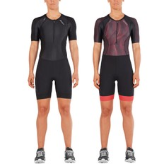 2XU Compression Short Sleeved Womens Trisuit