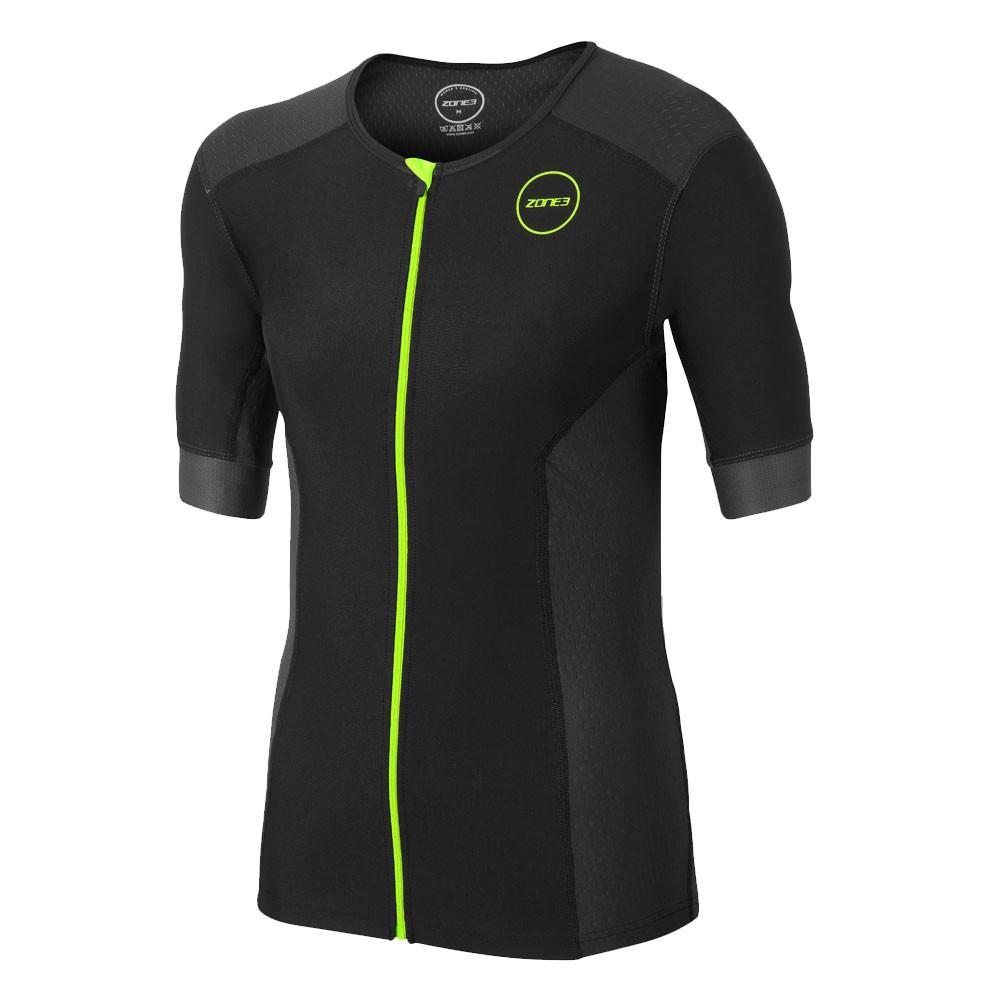 Zone3 Aquaflo Plus Short Sleeve Tri Top