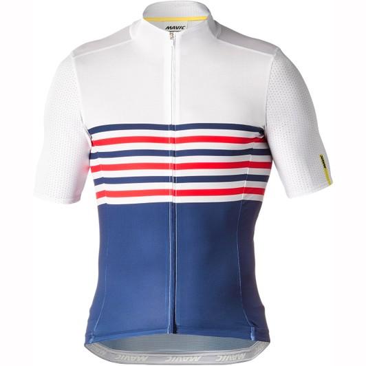 dfd7ae881 Mavic Cosmic Limited Edition La France Short Sleeve Jersey ...