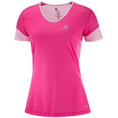 Salomon Trail Runner Short Sleeve Womens Running Top