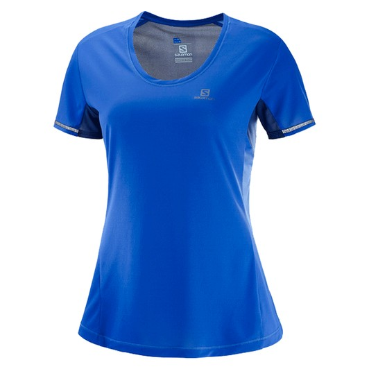 Salomon Agile Short Sleeve Womens Running Top