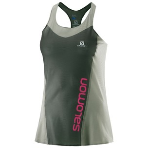 Salomon Lightning Pro Womens Running Tank Top