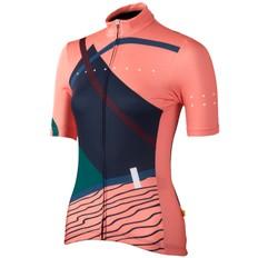 Pedla Linear Aero Womens Short Sleeve Jersey