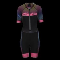 Zoot Ultra Aero Short Sleeve Womens Tri Suit