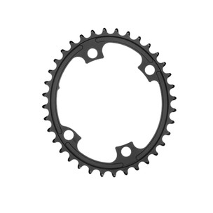 AbsoluteBLACK Premium Oval Shimano 4 Bolt Inner Chainring R9100