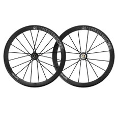 Lightweight Meilenstein 16/20 Carbon Clincher Endurance Wheelset