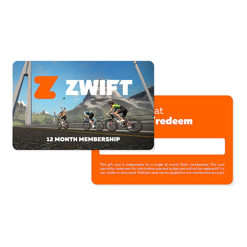 Zwift 12 Month Membership