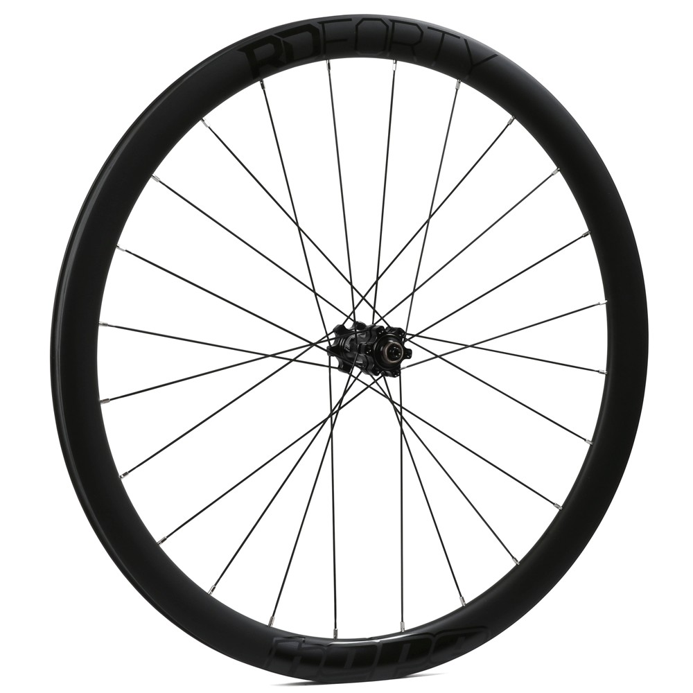Hope Technology RD40 Carbon Clincher RS4 6 Bolt Disc Tubeless Ready Front Wheel