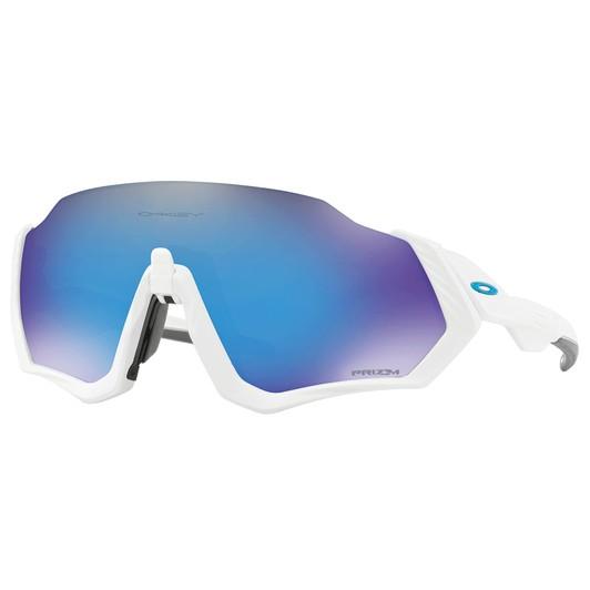 2abffe89d Oakley Flight Jacket Sunglasses With Prizm Sapphire Lens
