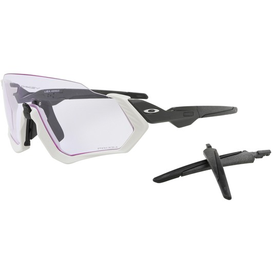 e7d2e4a735 Oakley Flight Jacket Sunglasses with Prizm Low Light Lens
