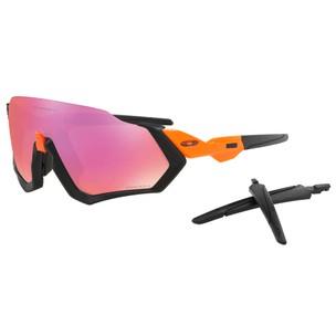 Oakley Flight Jacket Sunglasses With Prizm Trail Lens