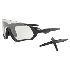 Oakley Flight Jacket Sunglasses with Photochromatic Lens